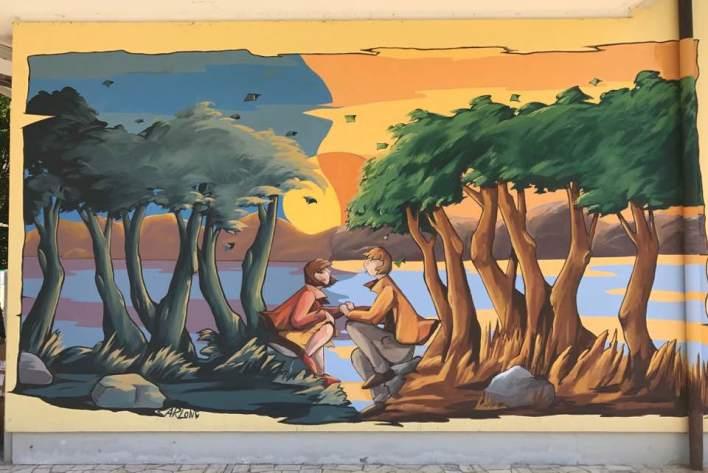 calendario Land on Art
